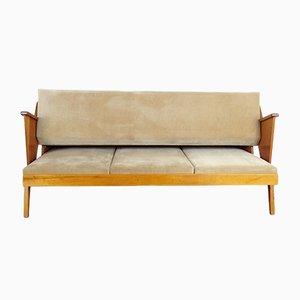 Wandelbares Mid-Century Sofa mit Holzgestell, 1960er