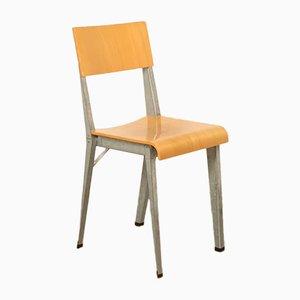Vintage V2 Beistellstuhl aus Birke & Schichtholz von Piet Hein Eek, 1990er