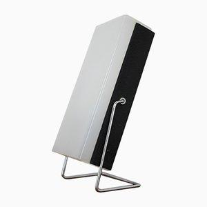 Lámpara de mesa de metal y plexiglás de Josef Hurka para Lidokov, años 70