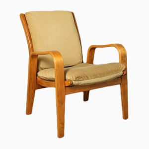 Mid-Century FB06 Corduroy Armchair by Cees Braakman for Pastoe, 1950s