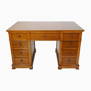 Antique Cherry Wood Desk, 1920s