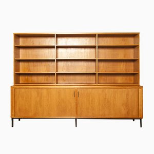 Vintage Teak Veneer Sideboard with Bookcase from EEKA, 1970s