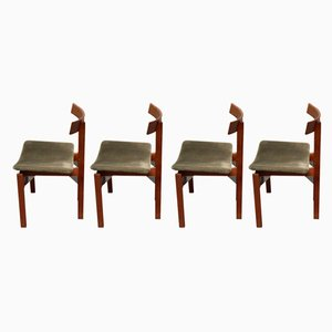 Danish Dining Chairs by Inger Klingenberg for France & Søn, 1960s, Set of 4