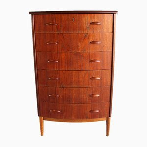 Mid-Century Danish Oak and Teak Dresser, 1950s
