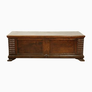 Antique Walnut & Cherry Chest