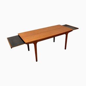 Mesa de centro extensible vintage de teca