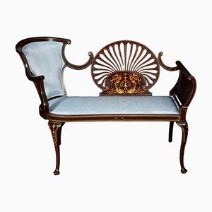 Canapé Antique en Acajou