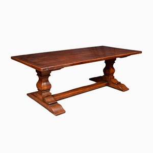 Antique 17th Century Oak Refectory Dining Table