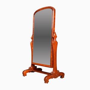 Espejo Cheval antiguo, siglo XIX