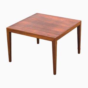 Tavolino da caffè in palissandro di Severin Hansen per Haslev Møbelsnedkeri, Danimarca, anni '60
