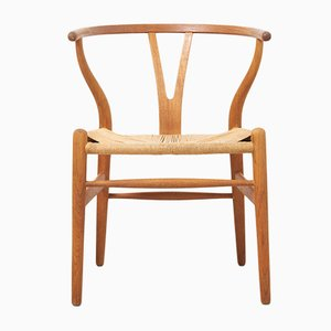 Danish Oak Dining Chairs by Hans J. Wegner for Carl Hansen & Søn, 1997, Set of 4