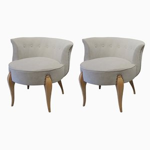 Mid-Century Swedish Lounge Chairs, 1960s, Set of 2