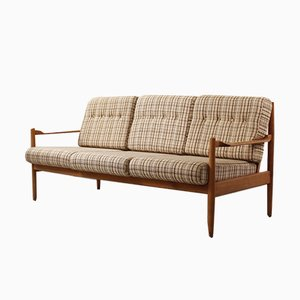Scandinavian Style Three-Seater Sofa, 1960s
