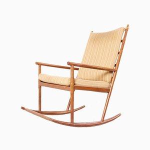 Sedia a dondolo moderna di Walter Knoll / Wilhelm Knoll, Scandinavia, anni '60