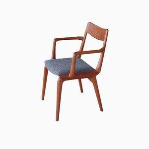 Dänischer Armlehnstuhl aus Teak von Erik Chrsitensen für Slagelse Møbelværk, 1960er