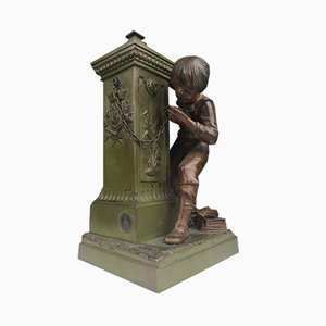 Antique French Bronze Decor by Charles Georges Ferville-Suan for Bronze Garanti Au Titre