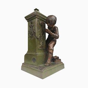 Decoración francesa antigua de bronce de Charles Georges Ferville-Suan para Garanti Au Titre