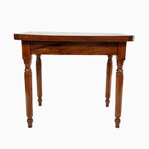 Tavolino vintage intarsiato