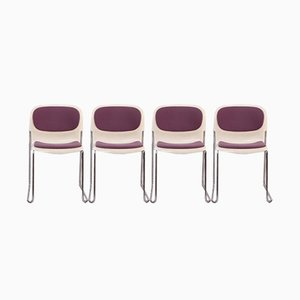 Model SM400K Dining Chairs by Gerd Lange for Drabert, 1970s, Set of 4
