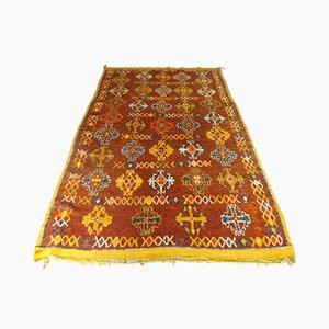 Alfombra marroquí vintage de lana, años 20