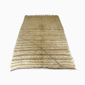 Vintage Beni Ouirain Wool Carpet, 1930s