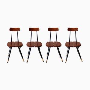 Pirkka Stühle aus Eschenholz von Markus Friedrich Staab, 2019, 4er Set