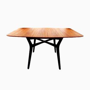 Mesa de comedor de madera comprimida de EGomme para GPlan, años 60