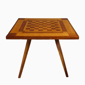 Mid-Century Maple Game Table, 1960s