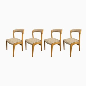 Model Cadix Beech Dining Chairs from Baumann, 1960s, Set of 4