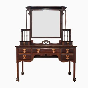 Antique Mahogany Dressing Table from Maple and Co.