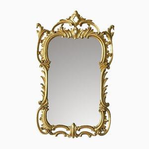 Antiker viktorianischer Spiegel mit vergoldetem Rahmen