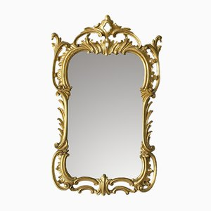 Antique Victorian Golden Mirror