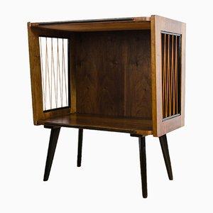 Mueble Mid-Century de nogal, años 60