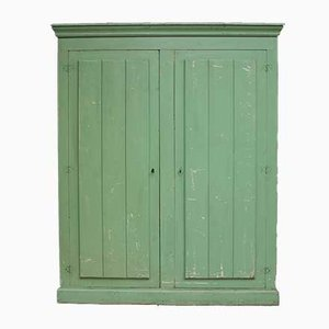 Antique Green Cupboard