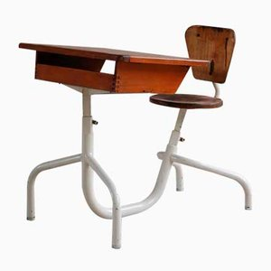 French Children's School Desk by Jean Prouvé, 1950s