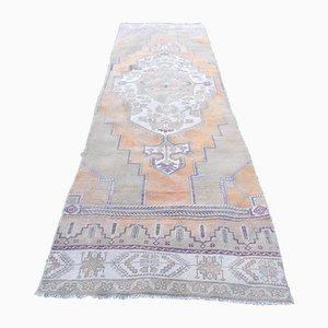 Vintage Tribal Hallway Runner Carpet, 1970s