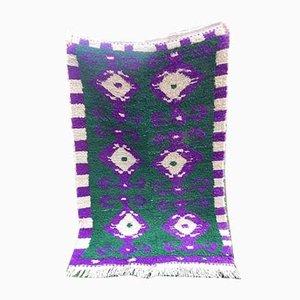 Vintage Moroccan Angora Wool Carpet, 1970s