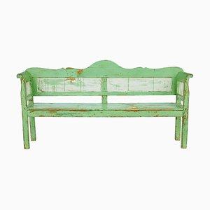 Antique Swedish Pine Bench, 1800s