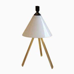 Moderne italienische Alì Tischlampe aus mundgeblasenem Glas von Denis Santachiara für Fontana Arte, 1986