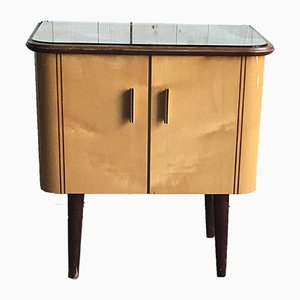 Mid-Century Hungarian Lacquer Cabinet, 1960s