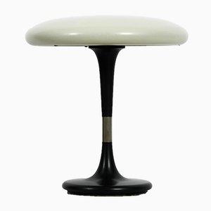 Lámpara de mesa hongo alemana minimalista de latón de Hillebrand, años 60