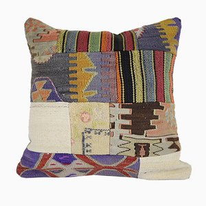 Patchwork Pillow Cover from Vintage Pillow Store Contemporary