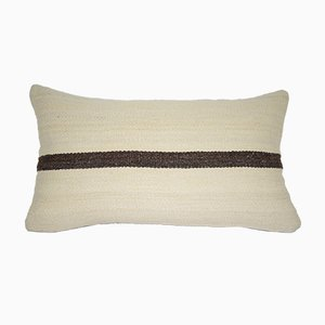 Handmade Striped Lumbar Pillow Cover from Vintage Pillow Store Contemporary
