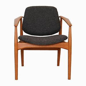 Mid-Century Model 188F Armchair by Arne Vodder for France & Daverkosen, 1970s