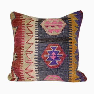 Hand Embroidered Turkish Pillow Cover from Vintage Pillow Store Contemporary