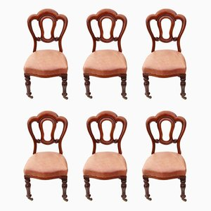 Antique Dining Chairs, 1870s, Set of 6