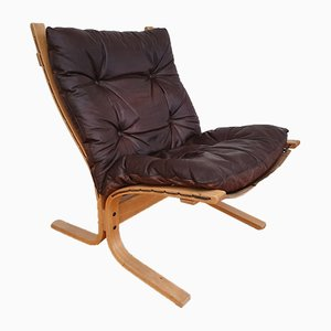 Siesta Lounge Chair by Ingmar Relling for Westnofa, 1970s