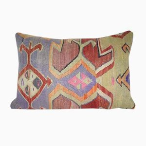 Large Lumbar Kilim Pillow Cover from Vintage Pillow Store Contemporary