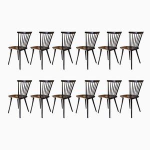 Fannett Chairs by Ilmari Tapiovaara, 1960s, Set of 12