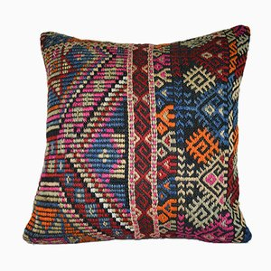Flat-Weave Kilim Pillow Cover from Vintage Pillow Store Contemporary